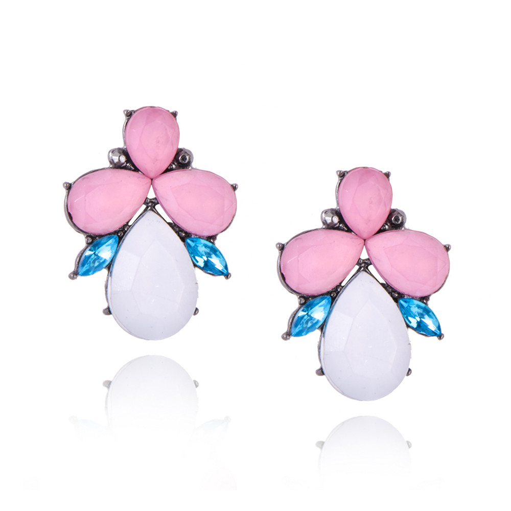 butterfly gem studs shop online empayah jewellery brisbane australia. Black Bedroom Furniture Sets. Home Design Ideas