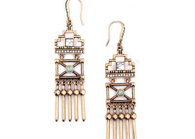 Yaretzi gold earring